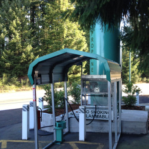Wilderness Chevron - Propane Filling Station