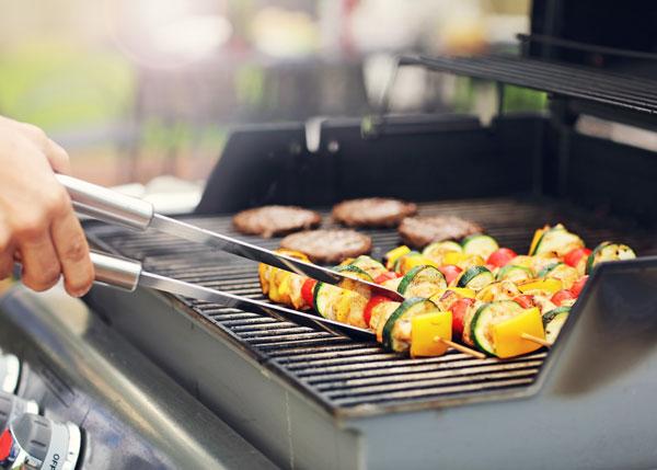 safe propane grilling